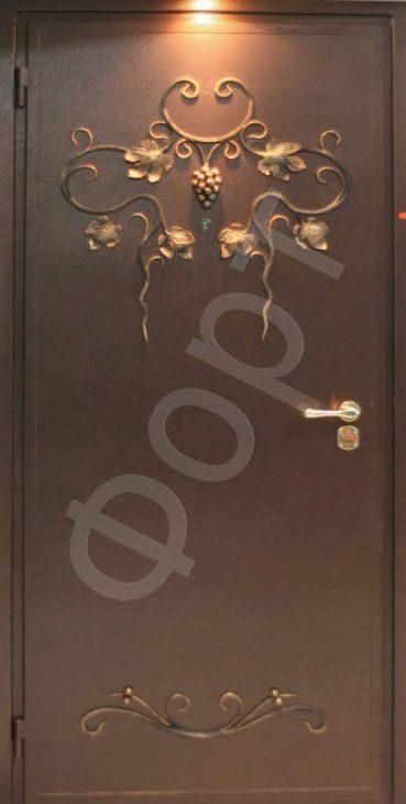 Фото кованных дверей